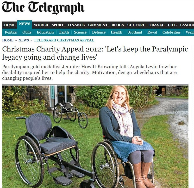 Jen in the Telegraph